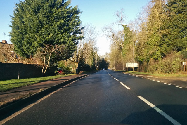 A5 heading north, Kilsby