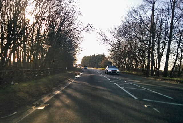 A426 towards Rugby