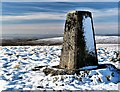 NS2763 : Hill of Stake (trig point) by Raibeart MacAoidh