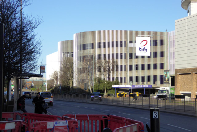 Rugby Central shopping centre