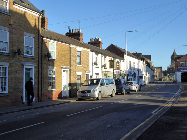 Lawford Road, Rugby, north side