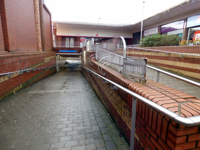 West Hamilton Street underpass