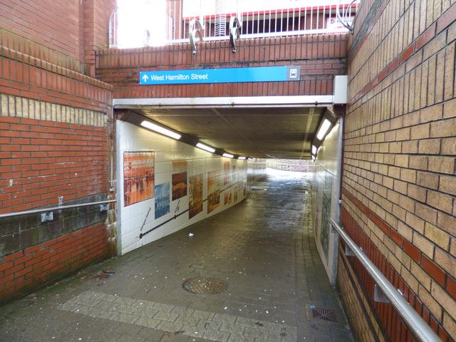 West Hamilton Street underpass