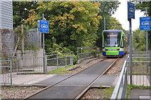 TQ2669 : Tramlink tram by N Chadwick