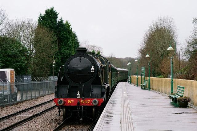 Arriving at East Grinstead
