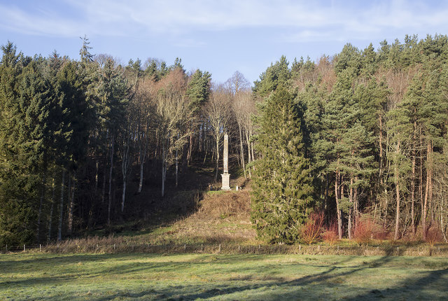 The Lord Dunglass Obelisk on the Hirsel Estate