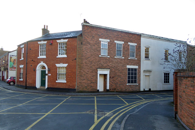 Premises on corner, Little Church Street, Rugby