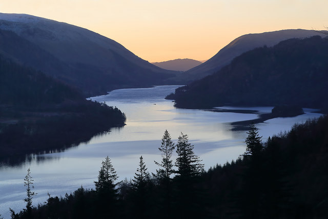 Thirlmere Reservoir at Sunrise