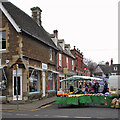 SK8608 : Oakham: a corner of the Market Place by John Sutton