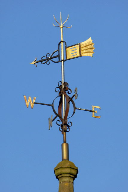Weather vane, Rugby Clock Tower