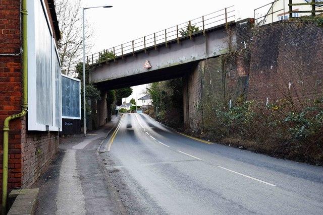 Railway bridge over Bromyard Road, St. John's, Worcester