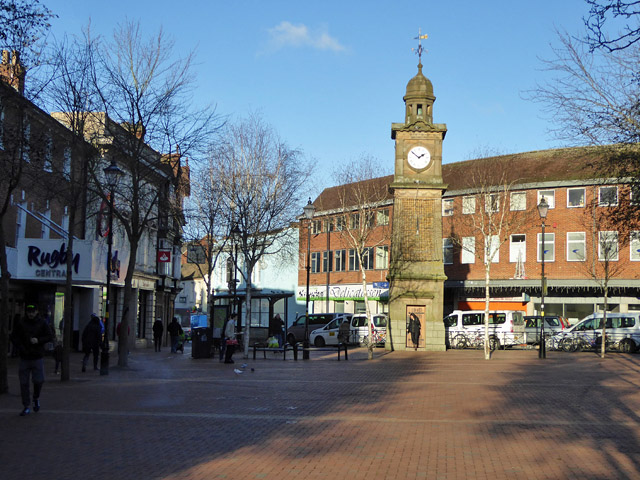 Clock Tower, Rugby Market Place