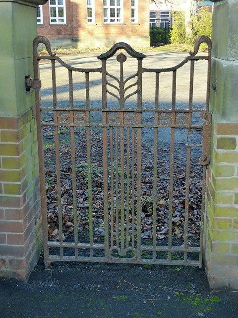 Gateway at the former Long Eaton School, Tamworth Road