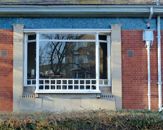 Long Eaton Public Library, window