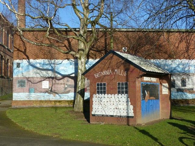Britannia Mills, West Park