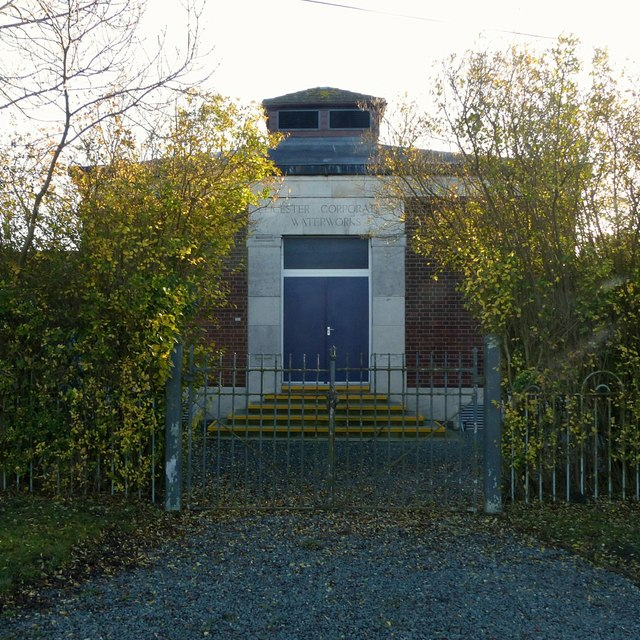 Leicester Corporation Waterworks building, Wilne Lane