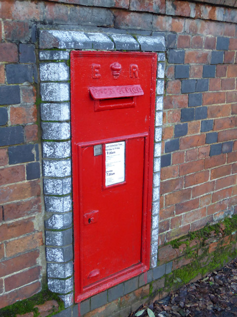 Postbox, Hillmorton Road, Rugby