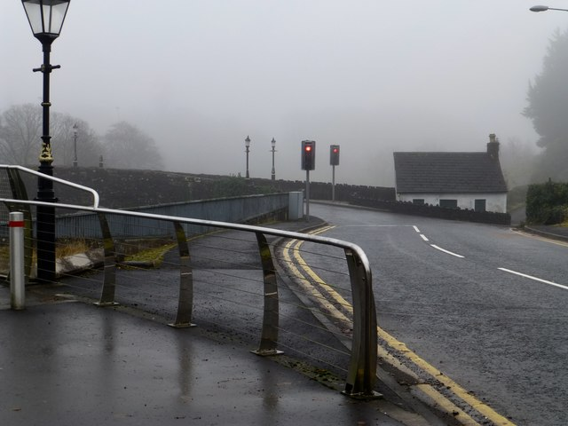 Misty along Irishtown Road, Omagh
