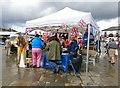 SJ9494 : RNLI stall on Hyde Market by Gerald England