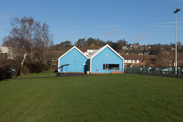 Main building, Winchester Sports Stadium