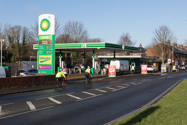 BP Filling Station, Bar End Road