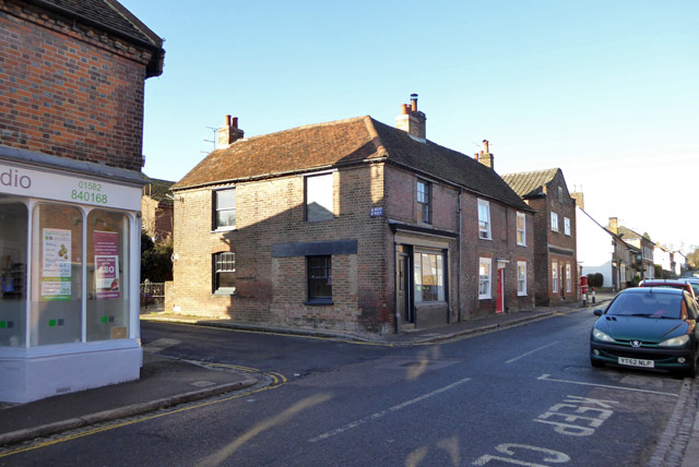 Houses on Markyate High Street