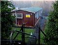 ST0087 : ACF hut below Mill Street, Tonyrefail by Jaggery