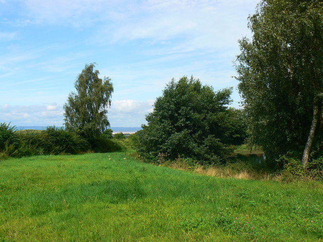 View north from Oakham Treasures, Portbury