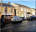 ST0088 : Twinpet shop and van, Mill Street, Tonyrefail by Jaggery