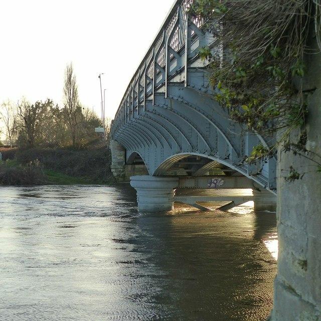 Harrington Bridge, main bridge