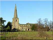 SK4731 : Church of All Saints, Sawley by Alan Murray-Rust