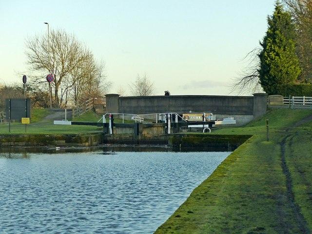 Sawley Cut and Flood Lock