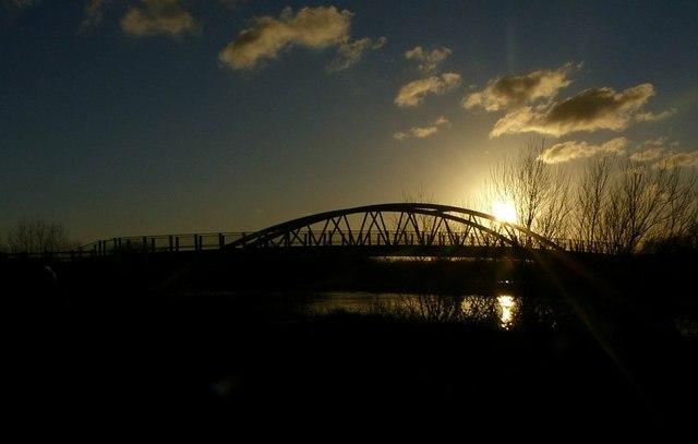 Sunset at Long Horse Bridge