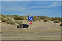 TQ9618 : Camber Sands - meeting point G by N Chadwick