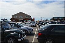 TQ9618 : Camber Sands - eastern car park by N Chadwick