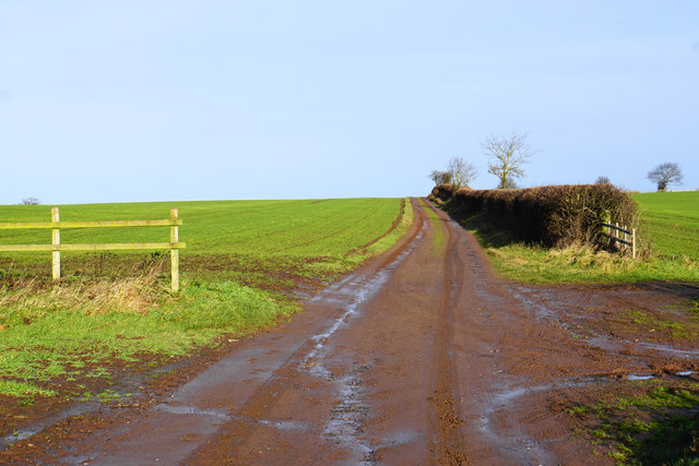 The Heart of England Way near Weeford