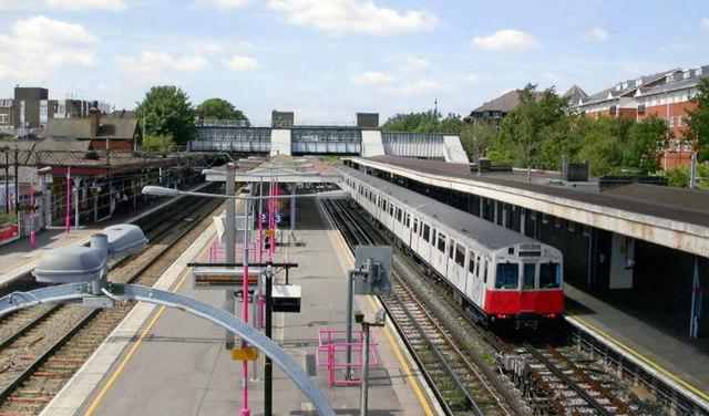 Upminster station, 2007