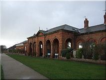 TA2047 : Former railway station, Hornsea by JThomas