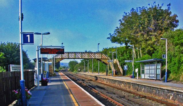 Upwey station, 2013