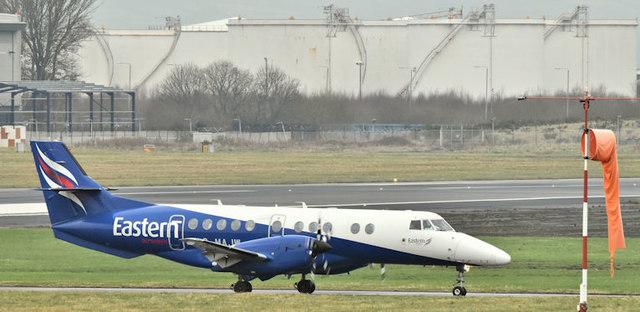 G-MAJW, Belfast City Airport (January 2018)