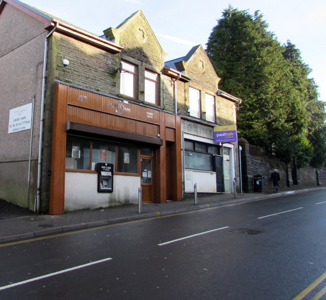Former Barclays Bank branch, High Street, Tonyrefail