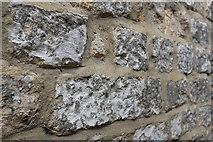 NZ0516 : Stone wall by Bob Harvey