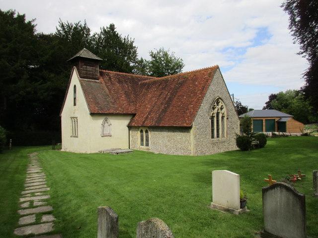 Church of St. Simon and St. Jude, Bramdean