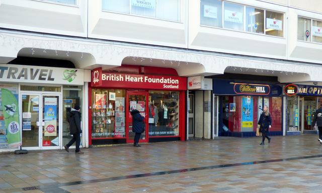 British Heart Foundation shop, Motherwell