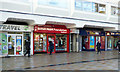 NS7557 : British Heart Foundation shop, Motherwell by Thomas Nugent