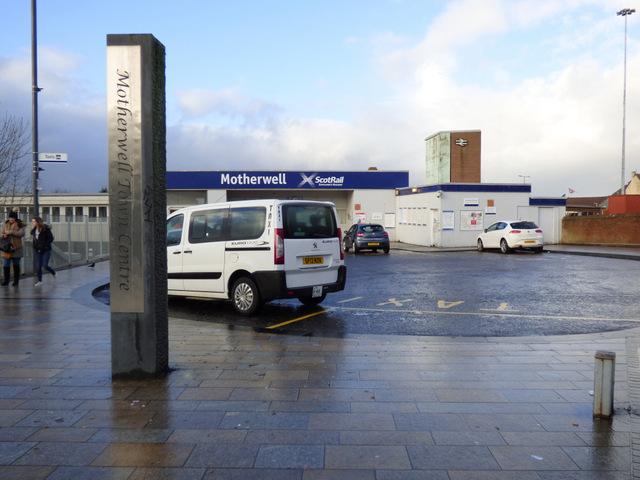 Motherwell railway station