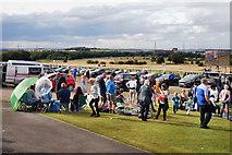 SE4422 : Pontefract racecourse by derek dye