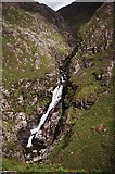 NH0217 : Waterfall on the Allt Grannda by Richard Sutcliffe