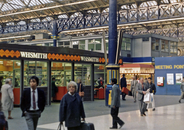 Victoria Station (Eastern), concourse 1985