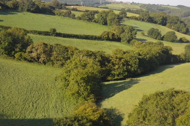 View from Bolitho Viaduct